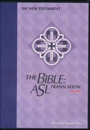 The Bible: ASL Translation To Go: New Testament  -