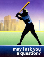 May I Ask You a Question? - Baseball  Pack of 25   -