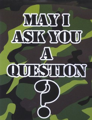 May I Ask You a Question? - Camouflage Military Pack of 25   -