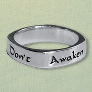 Don't Awaken Love Ring, Sterling Silver, Size 6  -