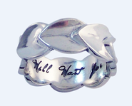 I Will Wait for You Ring, Sterling Silver, Size 8  -
