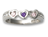 My Heart Belongs to Jesus Ring, Sterling Silver, Size 5  -