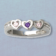 My Heart Belongs to Jesus Ring, Sterling Silver, Size 7  -
