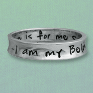 His Desire is For Me Sterling Silver Ring, Size 10  -