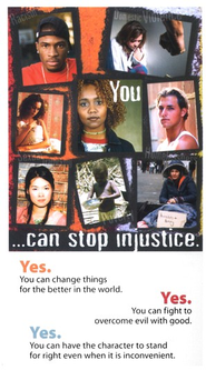 HLA - You... Can Stop Injustice - Pack of 25   -