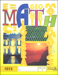 Latest Edition Math PACE 1013, Grade 2   -