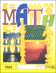 Latest Edition Math PACE 1024, Grade 2   -