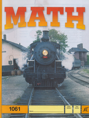 Latest Edition Math PACE 1061, Grade 6   -