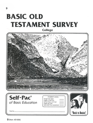Old Testament Survey PACE 9, Grades 9-12   -