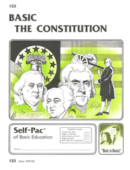 The Constitution Self-Pac 133, Grades 9-12   -