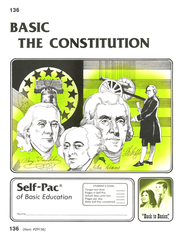 The Constitution Self-Pac 136, Grades 9-12   -