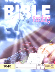 Bible Reading PACE 1040, Grade 4   -