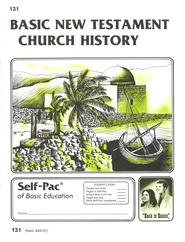 New Testament Church History Self-Pac 131, Grades 9-12   -