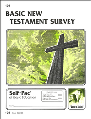 New Testament Survey Self-Pac 108,Grades 9-12   -