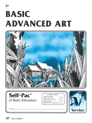 Advanced Art Self-Pac 97, Grades 9-12   -