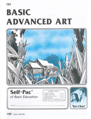 Advanced Art Self-Pac 103, Grades 9-12   -