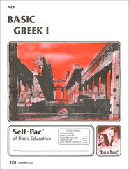 Greek Self-Pac 128, Grades 9-12   -