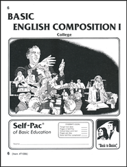 English Composition 1 Self-Pac 6  -