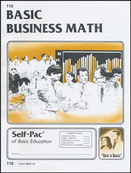 Business Math Self-Pac 110  -