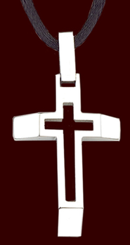 Beveled Cut Cross  -