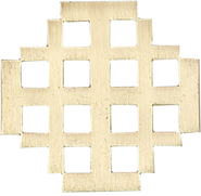 Jerusalem cross Pin  -