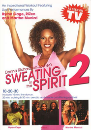 Sweating in the Spirit #2, DVD   -              By: Donna Richardson