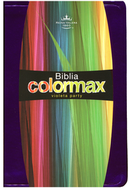 Biblia Colormax RVR 1960, Violeta Party  (RVR 1960 Colormax Bible, Party Purple)  -