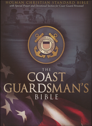 HCSB Coast Guardsman's Bible, Blue Simulated Leather   -