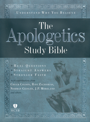 HCSB Apologetics Study Bible, Hardcover  -