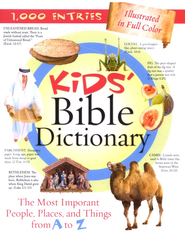 Kids' Bible Dictionary  -     By: Jean Fischer