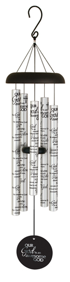 God Is An Awesome God Sonnet Wind Chime  -
