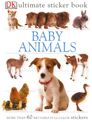 Ultimate Sticker Book: Baby Animals  -