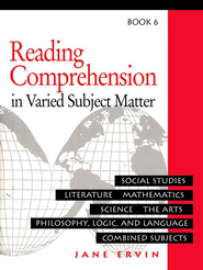 Reading Comprehension in Varied Subject Matter, Grade 8  -              By: Jane Ervin