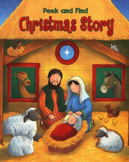 Peek and Find Christmas Story, Board Book   -              By: Allia Zobel-Nolan                   Illustrated By: Steve Cox