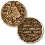 Armor of God Relief Coin   -