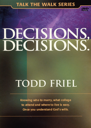 Decisions, Decisions DVD  -              By: Todd Friel