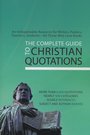 The Complete Guide to Christian Quotations   -