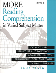 Reading Comprehension in Varied Subject Matter, Grade 10  -     By: Jane Ervin