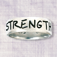 Strength Ring, Philippians 4:13, Men's Size Small 7-8    -