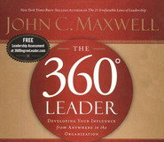 The 360 Degree Leader    Audiobook on CD  -     By: John C. Maxwell