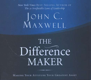 The Difference Maker, Audiobook on CD   -     By: John C. Maxwell