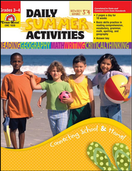 Daily Summer Activities, Moving from Third to Fourth Grade  -     Edited By: Marilyn Evans     By: Martha C. Cheney     Illustrated By: Jo Larsen