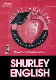 Shurley English Level 5 Practice CDs  -