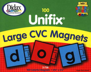 Large Unifix CVC Magnets   -