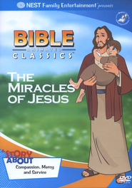 Animated Bible Classics: The Miracles of Jesus, DVD   -