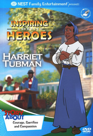 Inspiring Animated Heroes: Harriet Tubman, DVD   -