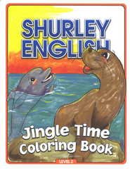 Jingle Time Coloring Book Level 2   -