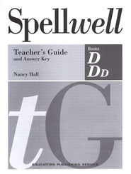 Spellwell D & DD Teacher's Guide and Answer Key   -     By: Nancy Hall