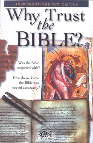 Why Trust the Bible? Pamphlet  -