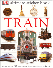 Ultimate Sticker Book: Train  -